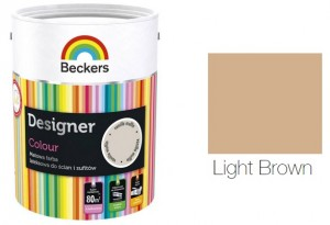 Beckers Designer Colour 2,5L - Light Brown