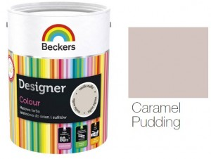 Beckers Designer Colour 2,5L - Caramel Pudding