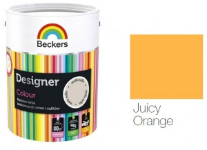 Beckers Designer Colour 2,5L - Juicy Orange