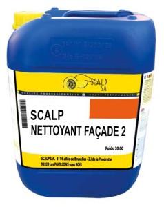Scalp nettoyant facade