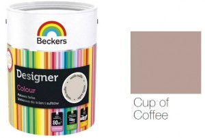 Beckers Designer Colour 2,5L - Cup of Coffee