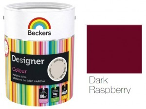 Beckers Designer Colour 2,5L - Dark Raspberry