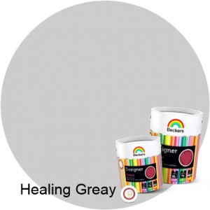 Beckers Designer Colour 2,5L - Healing Greay