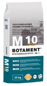 Botament M 10 Speed 25kg - klej 90min