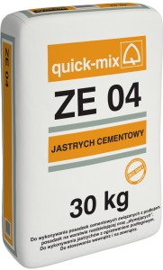 Quick-Mix ZE 04 30kg - jastrych cementowy