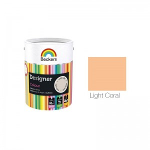 Beckers Designer Colour 2,5L - Light Coral