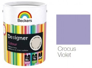 Beckers Designer Colour 2,5L - Crocus Violet