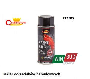 Champion color spray 400ml - Brake Caliper czarny