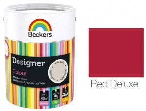 Beckers Designer Colour 2,5L - Red Deluxe