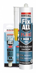 Klej montażowy Soudal FIX ALL Flexi 290ml - biały (FIX ALL Classic )