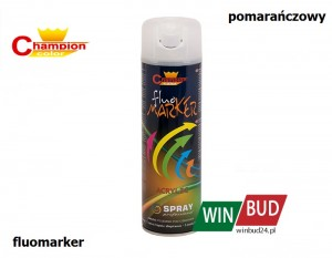 Champion color spray 400ml - fluomarker pomarańczowy