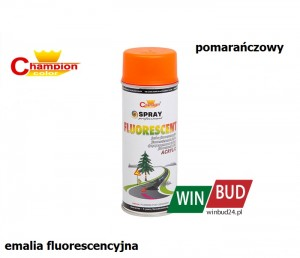 Champion color spray 400ml - fluorescent pomarańczowy