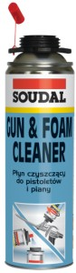 Czyścik Soudal 500ml Gun & Foam Cleaner