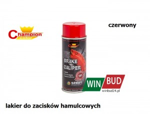 Champion color spray 400ml - Brake Caliper czerwony