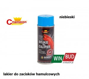 Champion color spray 400ml - Brake Caliper niebieski