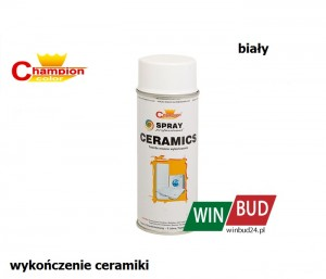 Champion color spray 400ml - ceramics biały