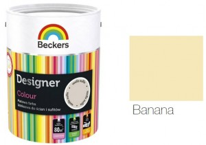 Beckers Designer Colour 2,5L - Banana